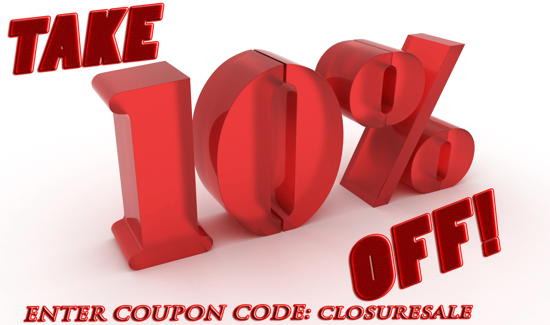 Weft and Closure Sale