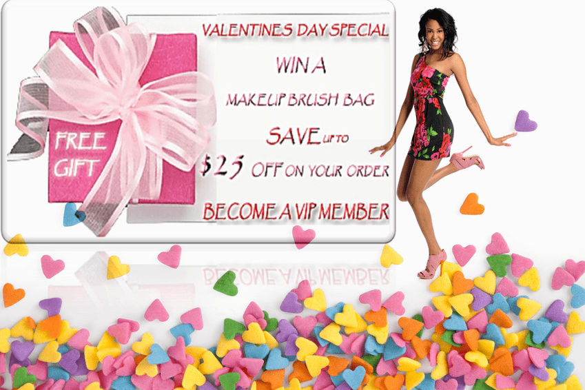Valentines Day Special at thelacewigsstore.com